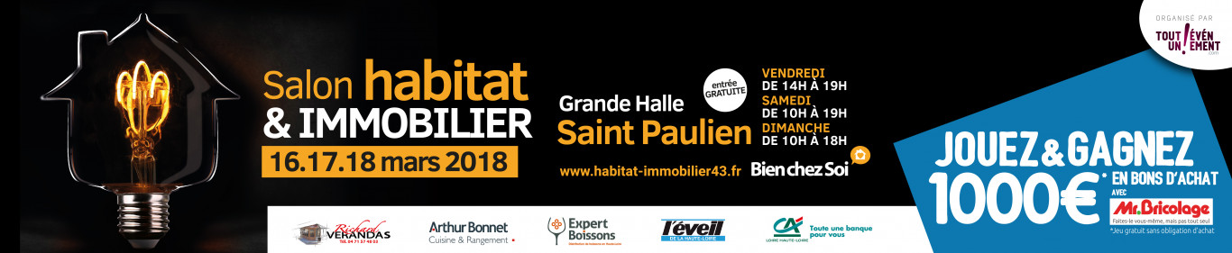 Salon de l'habitat et de l'immobilier Saint-Paulien 2018