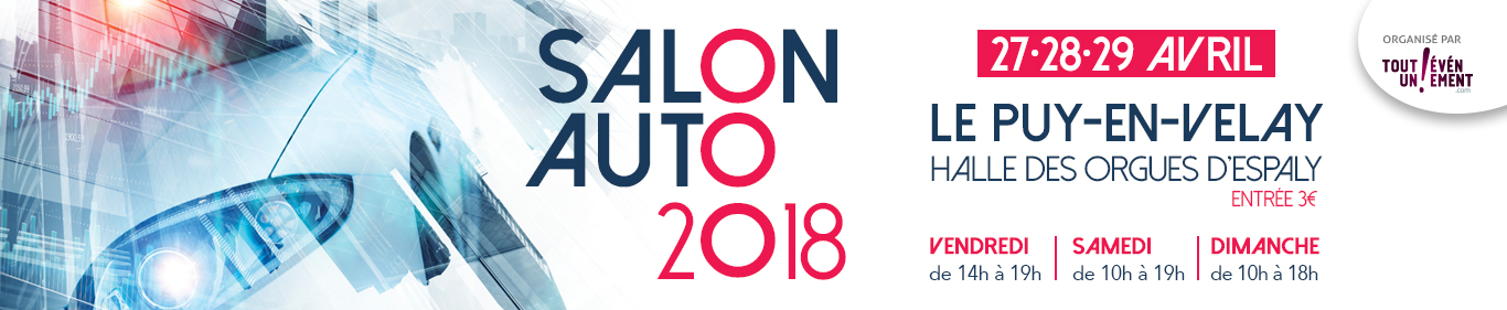 Salon de l'auto Puy-en-Velay 2018