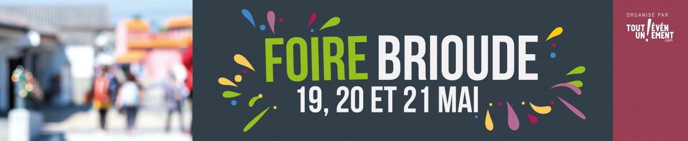 Foire de Brioude les 19, 20 et 21 mai